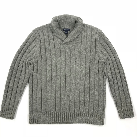 0faab9508a Lands  End Other - Lands End Mens Shawl Collar Sweater